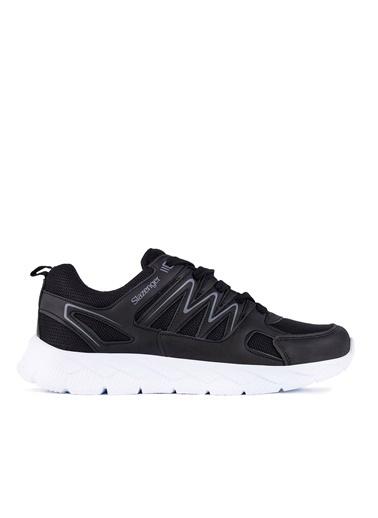 Slazenger Slazenger Krom  Sneaker Erkek Ayakkabı  Siyah